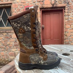 Men's Rocky SWAT Waterproof Snake Boots Size 8.5M